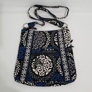 Vera Bradley Black Blue Cross Body Bag